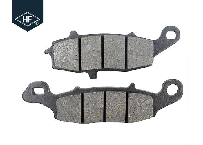 Red ATV / UTV Semi Metallic Brake Pads 108.7 * 43.2 * 8.3 Mm Size ISO Listed
