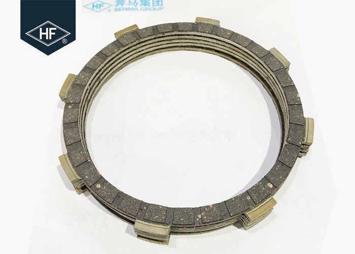 YBR125 / Liber125 Yamaha Clutch Plate 5 Pcs Rubber Black Racing Friction